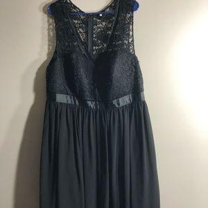 Torrid lace top dress size 20